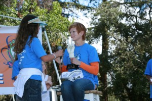 Frances Fisher and Kids for Peace